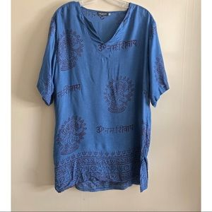 Earthbound trading co | Ethnic print tunic top
